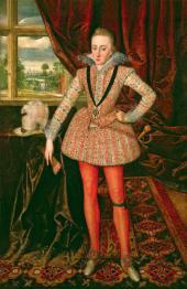 Роберт ПИК (Старший). Генрих, принц Уэльский. Около 1610