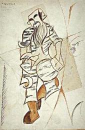М.Ф. ЛАРИОНОВ. ЛЕШИЙ. ЭСКИЗ КОСТЮМА К БАЛЕТУ НА МУЗЫКУ А.К. ЛЯДОВА «РУССКИЕ СКАЗ