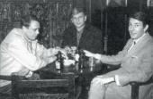 ГРУППА «ЗЕРО». (СЛЕВА НАПРАВО): ГЮНТЕР ЮККЕР, ХАИНЦ МАК, ОТТО ПИНЕ. 1961