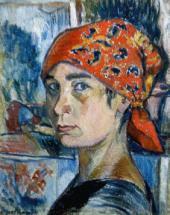Автопортрет. 1907–1908