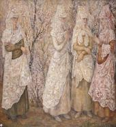 Весна. Белые испанки. 1932
