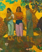 П. Гоген. Сбор плодов. 1899