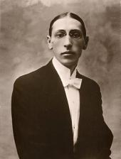 ИГОРЬ СТРАВИНСКИЙ. Фотография. 1910
