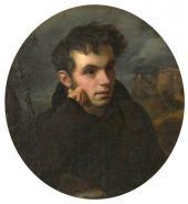 Орест Кипренский. Портрет Василия Андреевича Жуковского. 1816