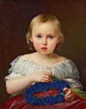 Петр Шамшин. Портрет Екатерины Федоровны Толстой. 1845