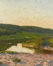 Летний день. 1892. Фрагмент