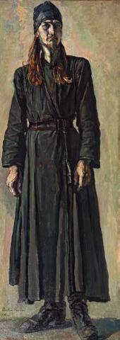 Молодой монах отец Федор. 1932