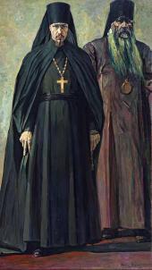 Иеромонах и Епископ (Иеромонах Пимен и Епископ Антонин). 1935