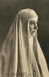 Великая княгиня Елизавета Федоровна. Фотография. 1916