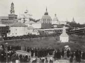 Крестный ход в Троице-Сергиевой Лавре