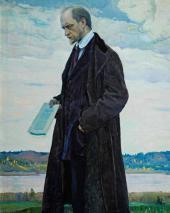 Мыслитель (портрет И.А. Ильина ). 1921–1922