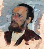 Портрет Л.В. Средина . 1899