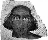 А.С. Голубкина. Сандро Моисси (в роли Эдипа в трагедии Софокла «Царь Эдип»).1913