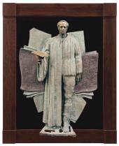 Скульптурные рельефы из серии «Мои современники»