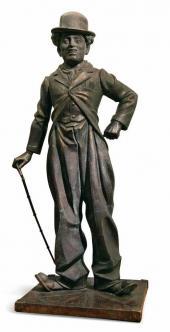 Памятник Чарли Чаплину. 2005