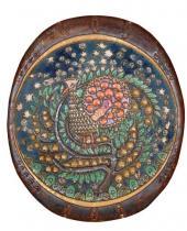 Декоративное блюдо «Жар-птица». По эскизу А.Я. Головина