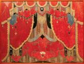 Занавес главный (с картами)к спектаклю по драме М.Ю. Лермонтова «Маскарад». 1917