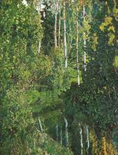 Лесная река. 1908–1910