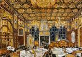 Сенат. Эскиз декорации к трагедии У. Шекспира «Отелло» (1930)
