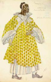 Отелло. Эскиз костюма для постановки трагедии У. Шекспира «Отелло»