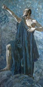 Ф.И. Шаляпин в роли Мефистофеля в опере Ш. Гуно , Ж. Барбье, М. Карре «Фауст»