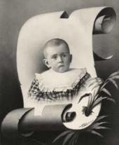 Ю.А.Бахрушин в детстве. 1897