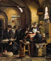 Е.Д. Поленова. Иконописная XVI столетия. 1887