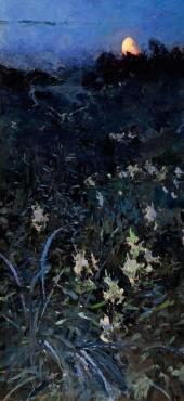 А.Я. Головин. Щемит. Ущерб луны. 1894