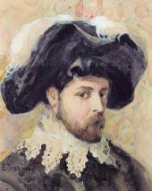 Е.Д. Поленова. Портрет А.Я. Головина (в испанском костюме)