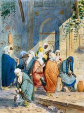 Сценка у источника в Константинополе. 1845