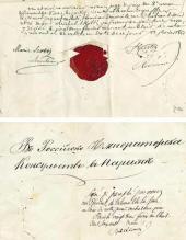 Духовное завещание М. Скотти. 1861