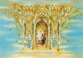 Д.А. Чербаджи Эскиз декорации к балету П.И. Чайковского «Лебединое озеро». 2013