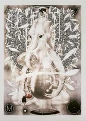 Большой Слон. 2000-е (?) Композиция из 16 листов