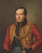 П.Е. Заболотский. Портрет М.Ю. Лермонтова. 1837
