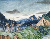 М.Ю. Лермонтов. Отряд древних воинов. 1826–1827(?)