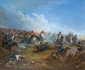 М.Ю. Лермонтов. Атака лейб-гвардии гусар под Варшавой. 26 августа 1831 года