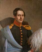 Неизвестный художник. Портрет М.Ю. Лермонтова. 1838–1839