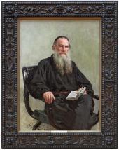 И.Е. Репин. Портрет Л.Н. Толстого. 1887