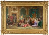 В.И. Якоби (Якобий). Шуты при дворе Анны Иоанновны. 1872