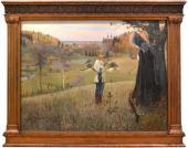 М.В. Нестеров. Видение отроку Варфоломею. 1889–1890