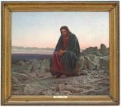 И.Н. Крамской. Христос в пустыне. 1872
