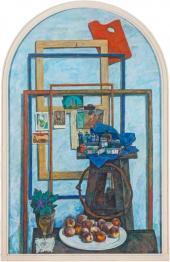 А.Ю. Никич-Криличевский Праздничный натюрморт. 1975