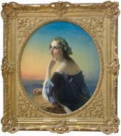 Т.А. Нефф. Мечтание. 1840-е