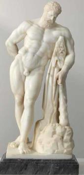 Неизвестный скульптор второй половины XVIII века (Ф.Г. Гордеев?). Геракл
