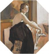 В.А. Серов. Натурщица. 1905