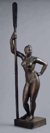 И.Д. Шадр. Девушка с веслом. 1934–1935