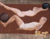 А.А. Дейнека. Утренняя зарядка. 1932