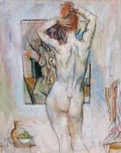 Е.Е. Моисеенко. Натурщица. 1980