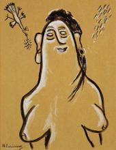 М.Ф. Ларионов. Венера с птицей. 1920–1930-е