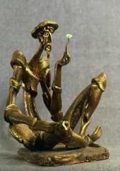 Дон Кихот. Гипс. 1976. Медь, бронза. 1990